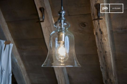 Sweet Bell glazen hanglamp