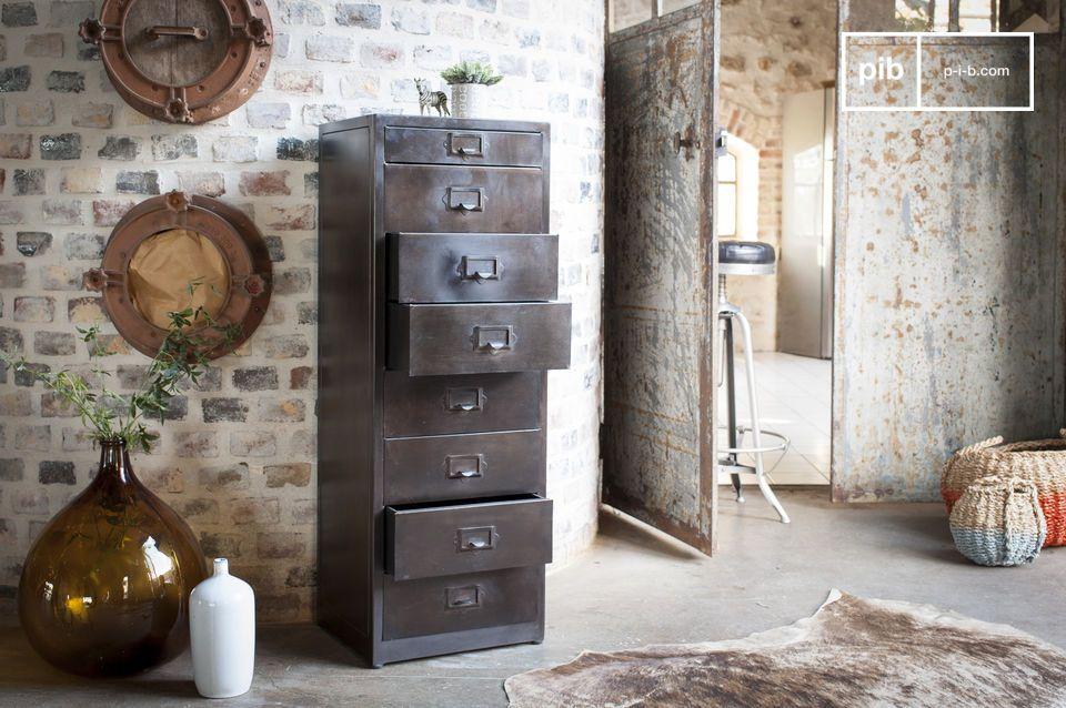 100% metalen vintage design