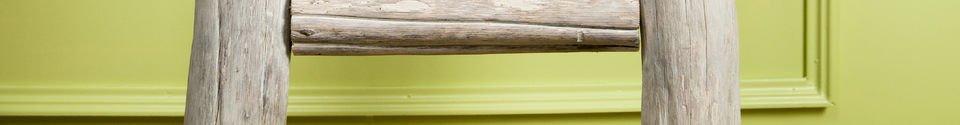 Benadrukte materialen Towel-rail ladder