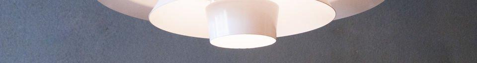 Benadrukte materialen Trebäl hanglamp