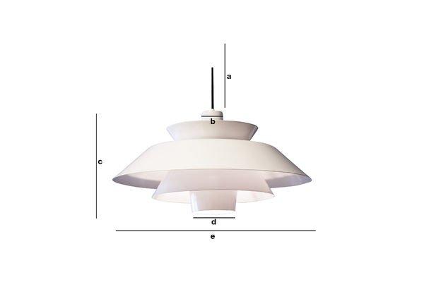 Productafmetingen Trebäl hanglamp