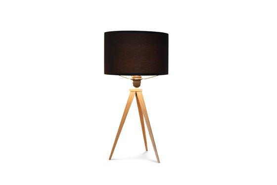 Tripod wood tafellamp Productfoto