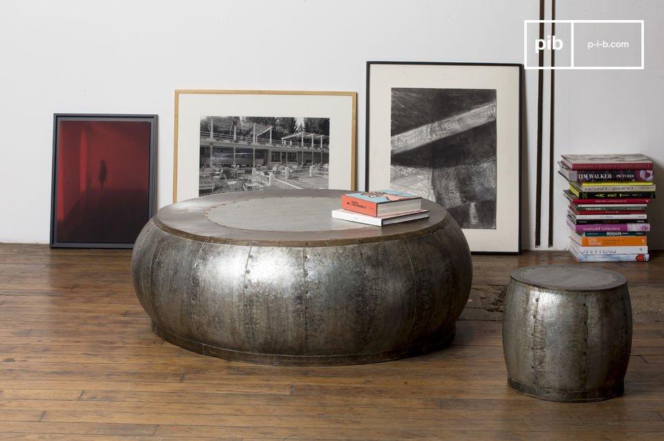 Tubisteel metalen salontafel