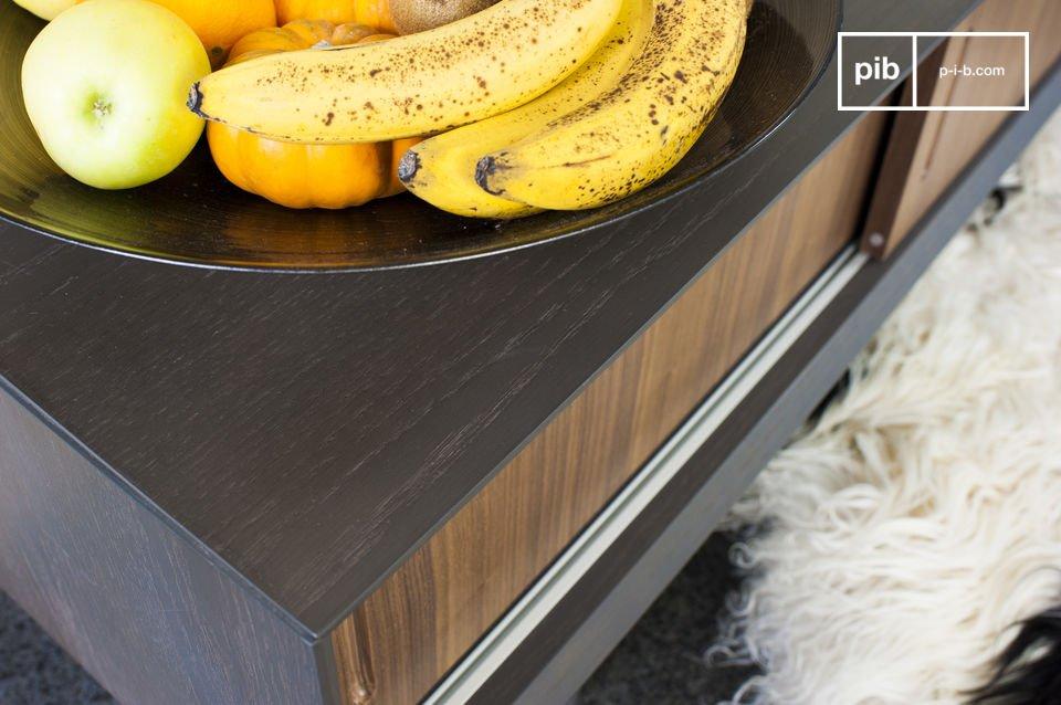 Kies voor een praktisch Scandinavisch tv-meubel met een modern ontwerp die elegantie toevoegt aan je