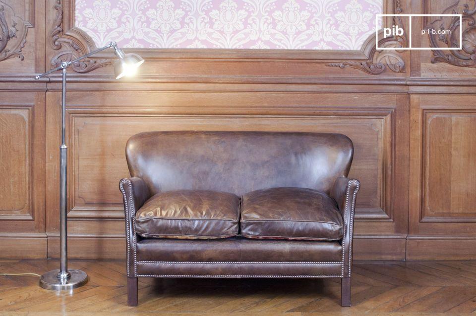 Deze bank past perfect in je woonkamer, studeerkamer of slaapkamer