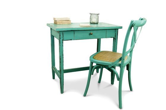 Turquoise Lilac tafel Productfoto