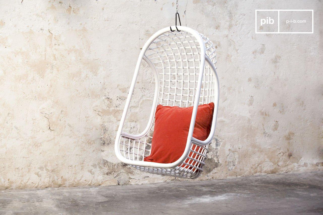Hangstoel Vintage Wit.Valkonen Hangstoel Scandinavische Elegantie Pib