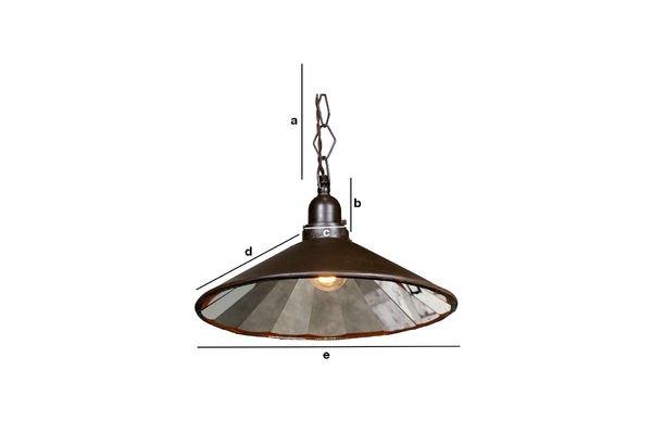 Productafmetingen Veelzijdige hanglamp