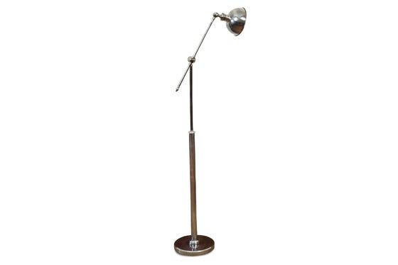Verstelbare metalen leeslamp Productfoto