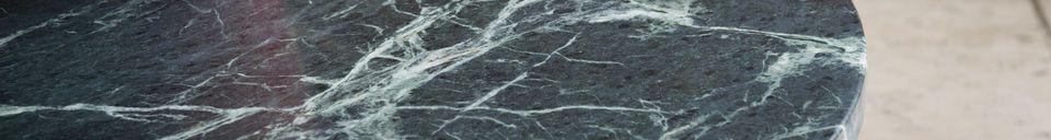 Benadrukte materialen Verticü marmeren salontafel