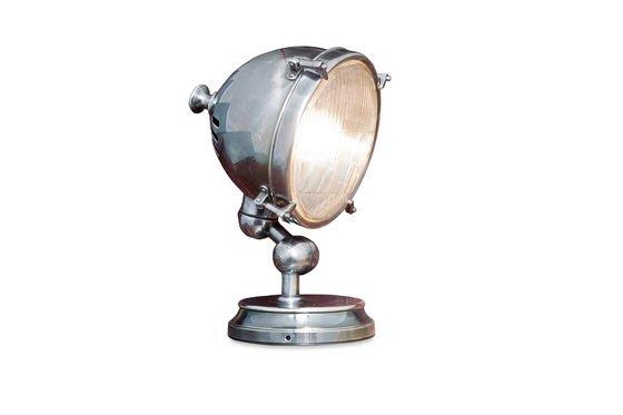 Verzilverde lamp Productfoto