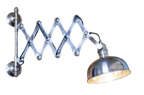 Verzilverde schaarlamp Productfoto