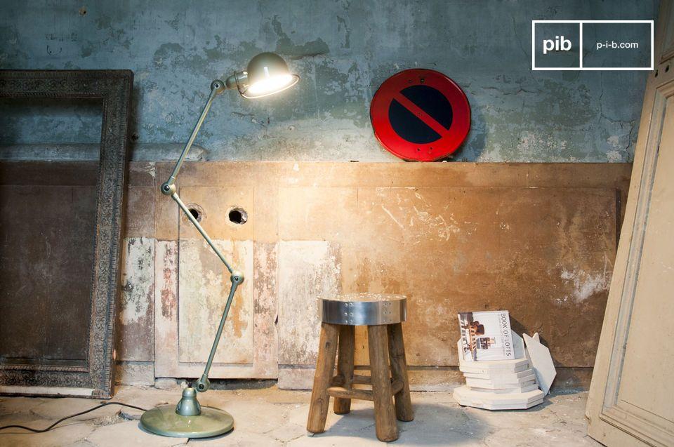 Vespa groen Jieldé loft lamp