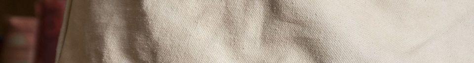 Benadrukte materialen Victoria beige lampenkap
