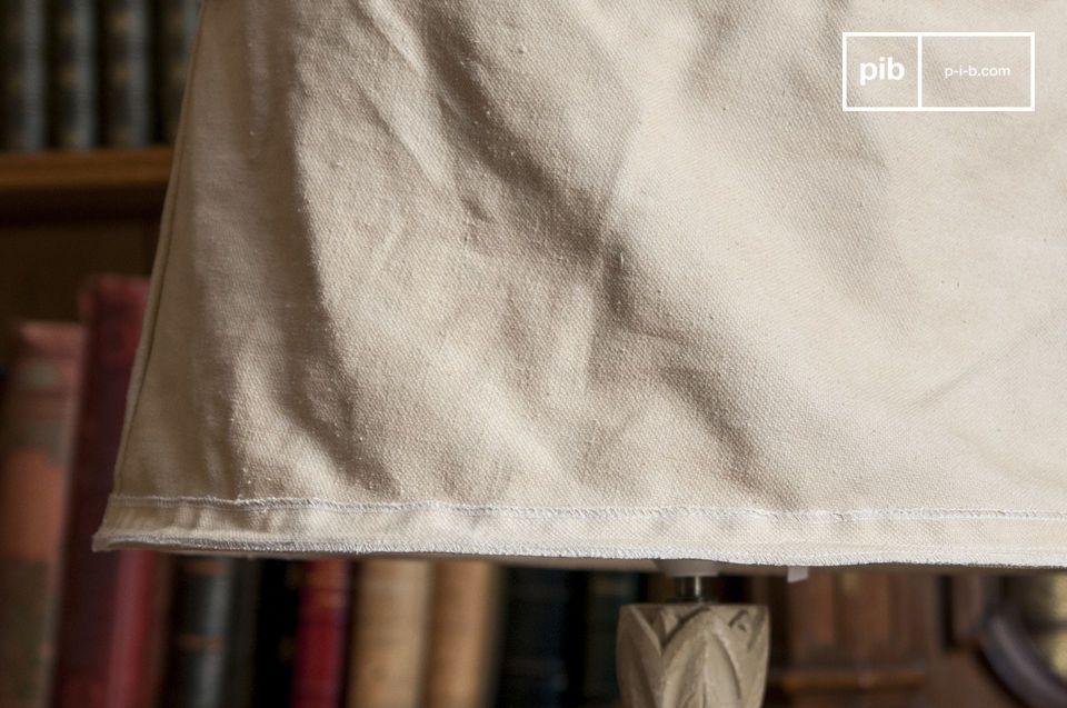 Gerecycleerde ambachtelijke stof met een grote diameter van 45 cm