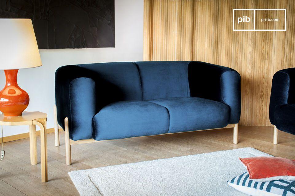 Een tijdloze Scandinavische object, perfect voor een kleurrijke touch in de woonkamer