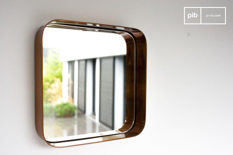 Vierkante Lena spiegel