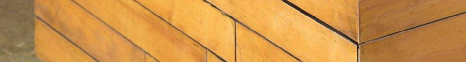 Benadrukte materialen Vierkante salontafel Sheffield