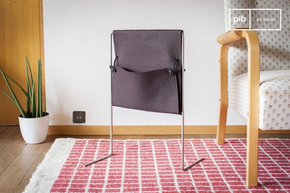 Deze magazinehouder is het perfecte object om uw kamer of woonkamer te decoreren met een