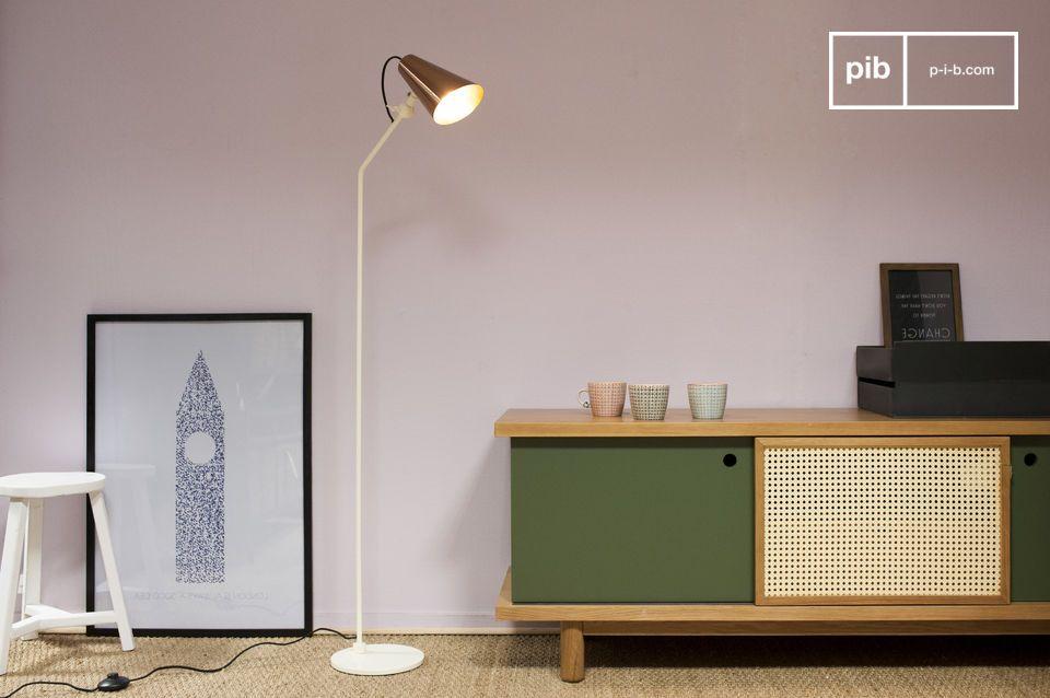 Vintage leeslamp Courmayeur