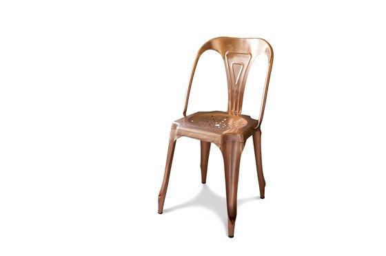Vintage Multipl's stoel in koper Productfoto