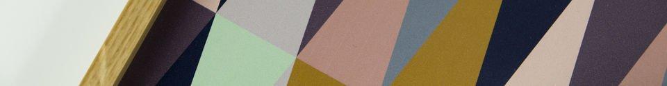 Benadrukte materialen Vintage Remix dienblad