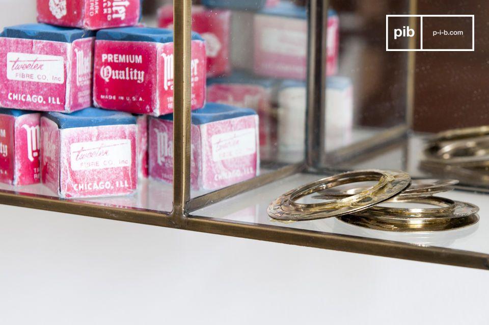 Het wandopslagrek Collectionneur kan zijn plaats vinden in praktisch elke kamer van het huis