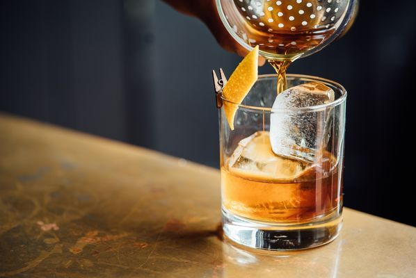 Whiskyglas met minitang
