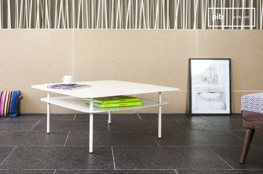 Witte Holly salontafel
