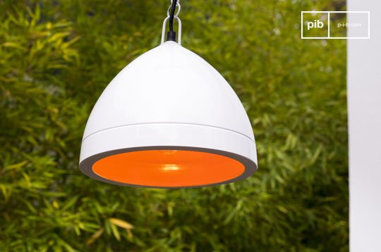 Witte Këpsta hanglamp