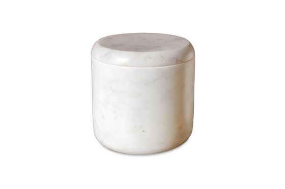 Witte marmeren pot Wäg Productfoto
