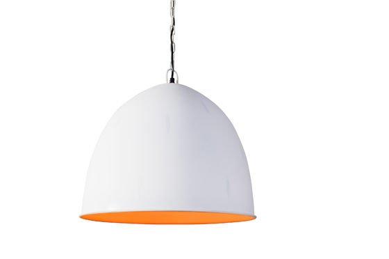 Witte Nölia hanglamp Productfoto