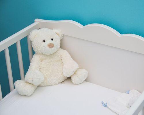 Witte teddy