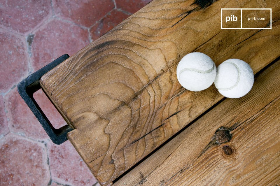 Een tafel met karakter geïnspireerd door karren