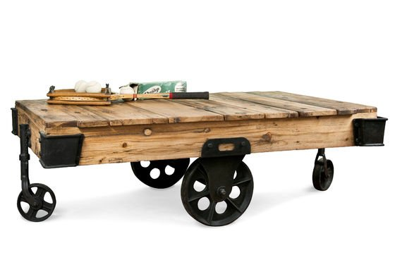 Wood Wagon salontafel Productfoto