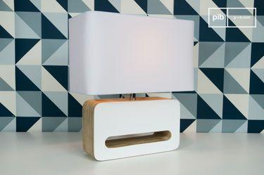 Wood White tafellamp