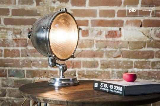 XXL Verzilverde lamp