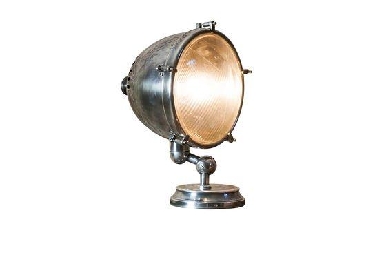 XXL Verzilverde lamp Productfoto