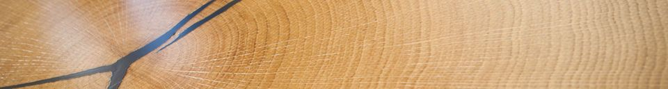 Benadrukte materialen Xyleme dubbele salontafel