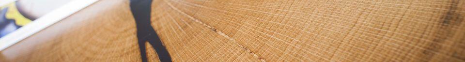 Benadrukte materialen Xyleme salontafel