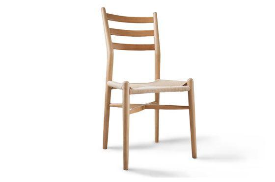 Ystad houten stoel Productfoto