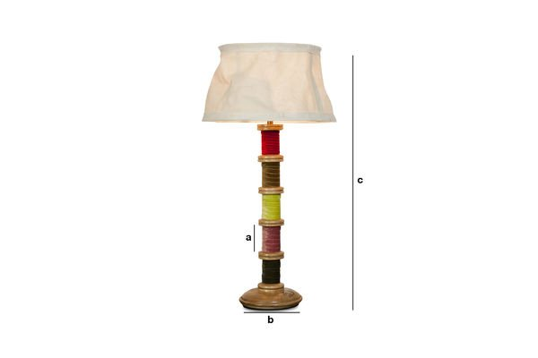 Productafmetingen Zachte Mercery lamp