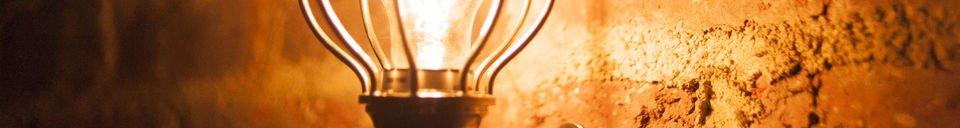Benadrukte materialen Zakari draagbare lamp