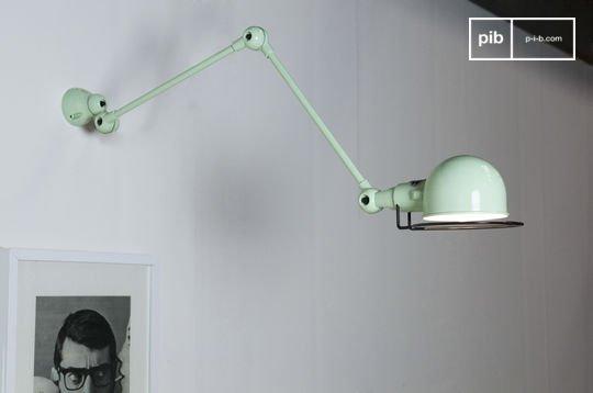 Zeegroene Jieldé Signal wandlamp