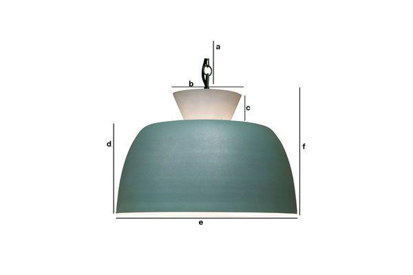 Productafmetingen Zermatt hanglamp