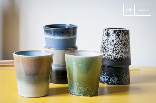Zes Ceramix koffiekopjes
