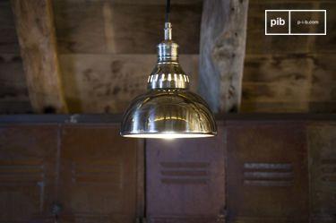 Zilveren hanglamp Olonne