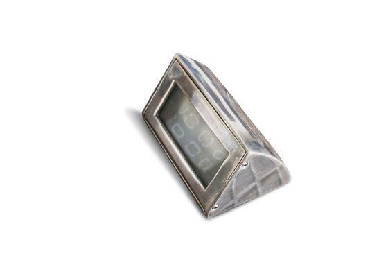 Zilveren wandlamp Martinez Productfoto