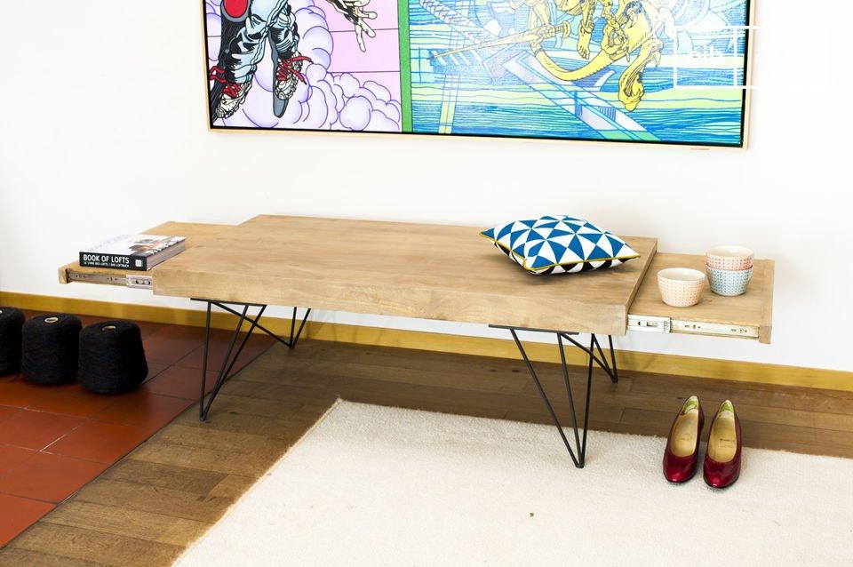 Licht hout, retro sfeer en aanpassingsvermogen