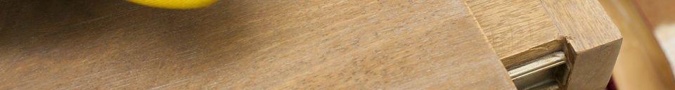 Benadrukte materialen Zurich verlengbare salontafel